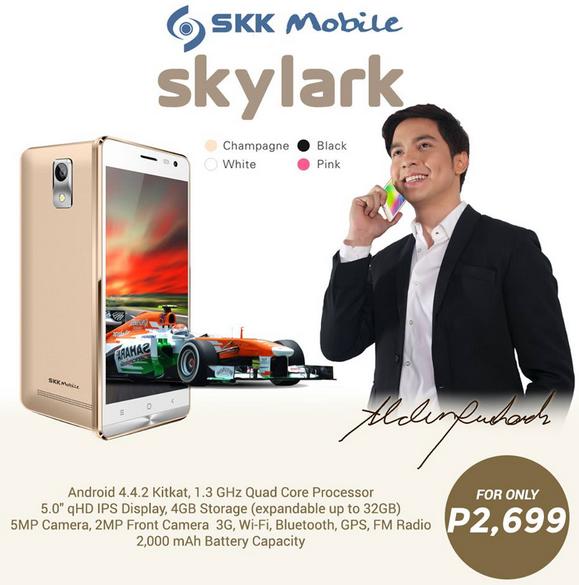 Best Smartphones Under 3K, SKK Skylark