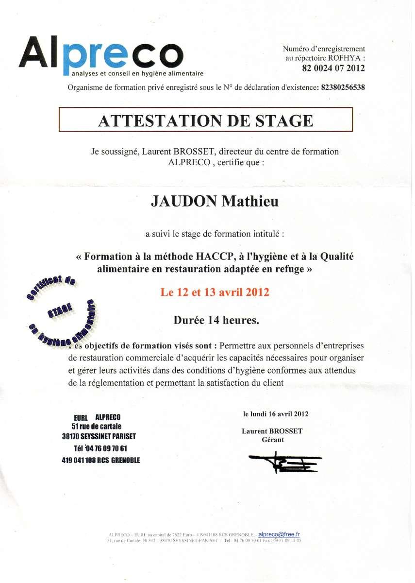 curriculum vitae   dipl u00f4mes jaudon mathieu