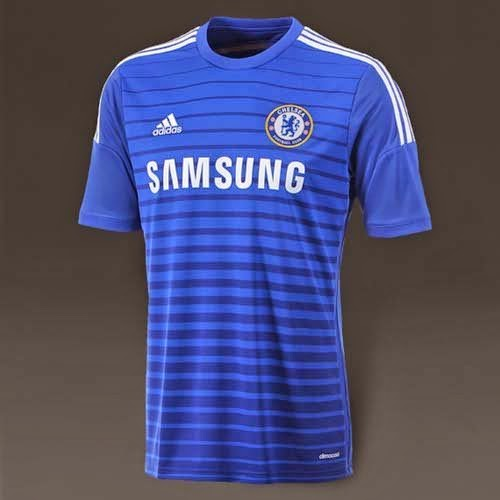 Adidas Released 2014/15 Chelsea Home kit