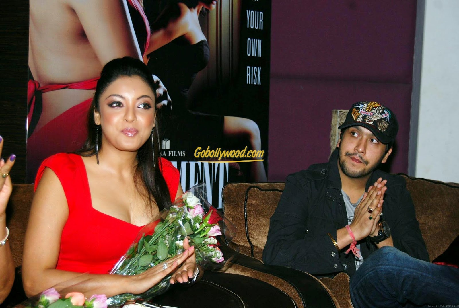 Tanushree Dutta and Bappa Lahiri Music Director