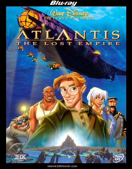 Atlantis: Kayıp İmparatorluk: Atlantis: The Lost Empire (2001) afis