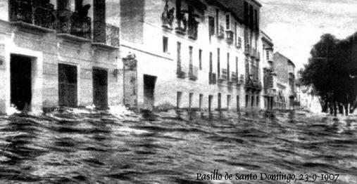 Inundaciones de 1907. Málaga