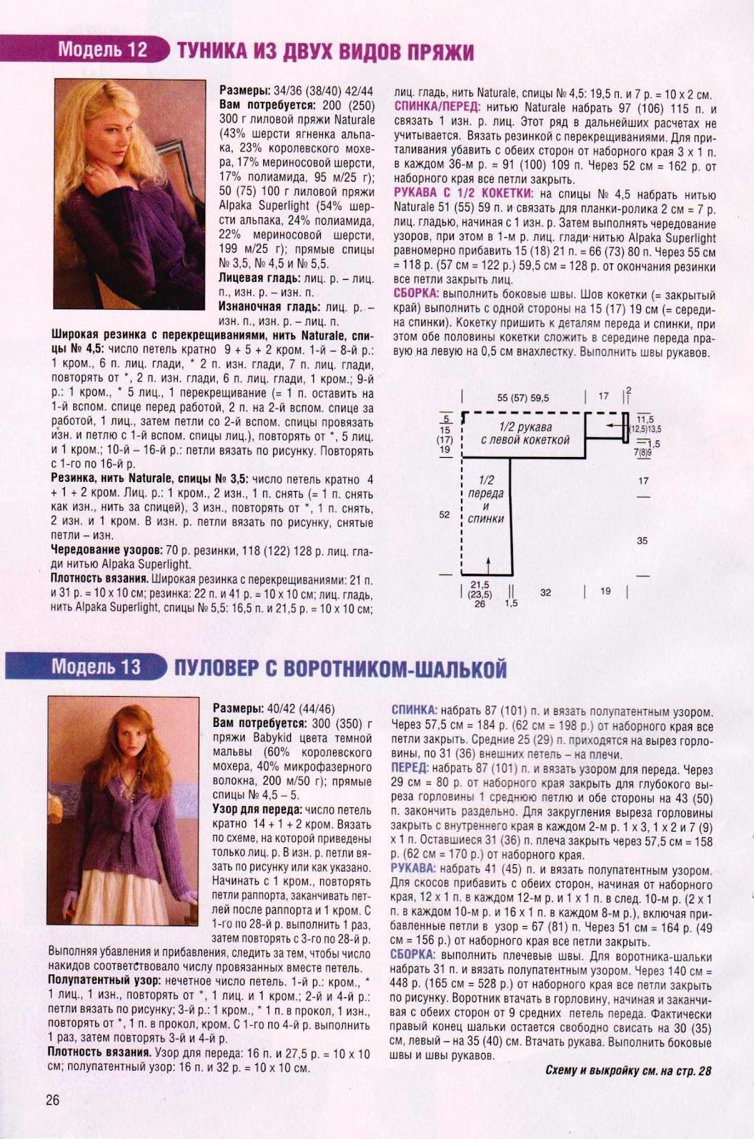 Маленькая Диана журнал по вязанию 36