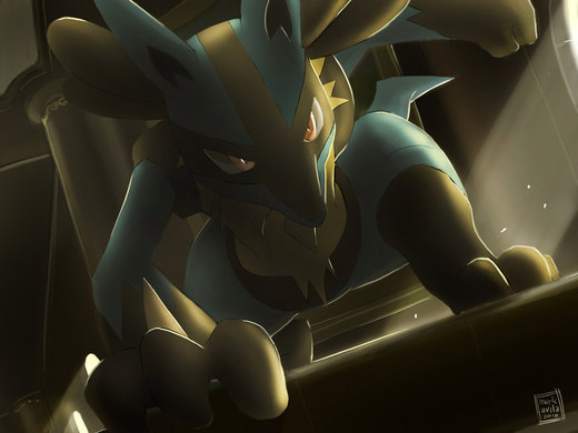 Pokemon: Lucario por mark331