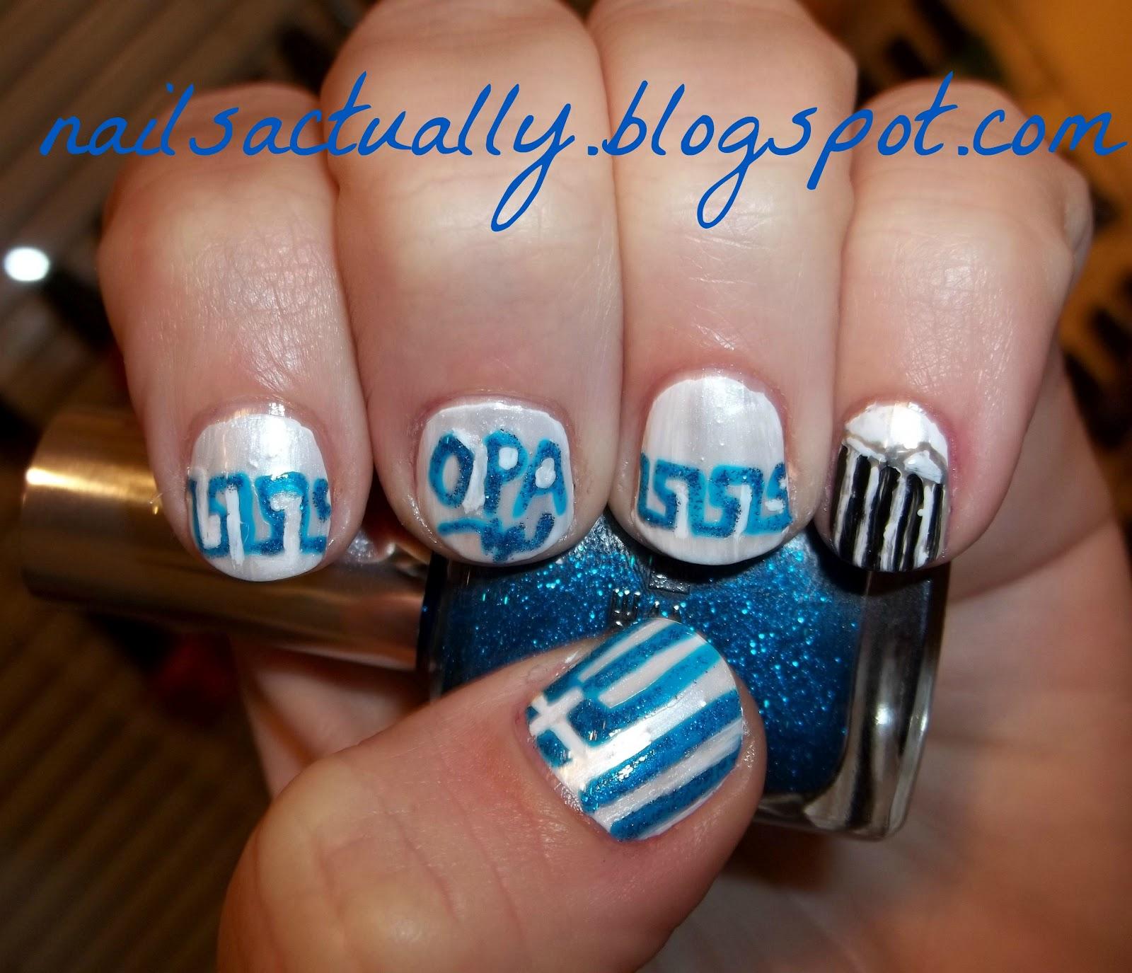 Nails Actually Greek Nails