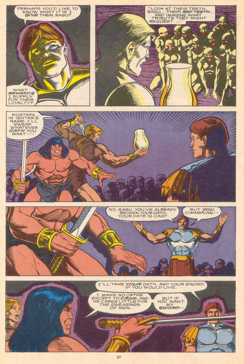 Conan the Barbarian (1970) Issue #228 #240 - English 21