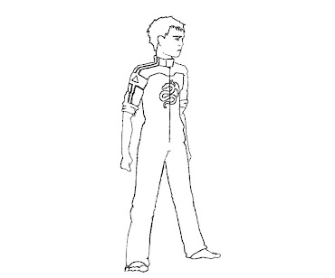 #3 Enders Game Coloring Page