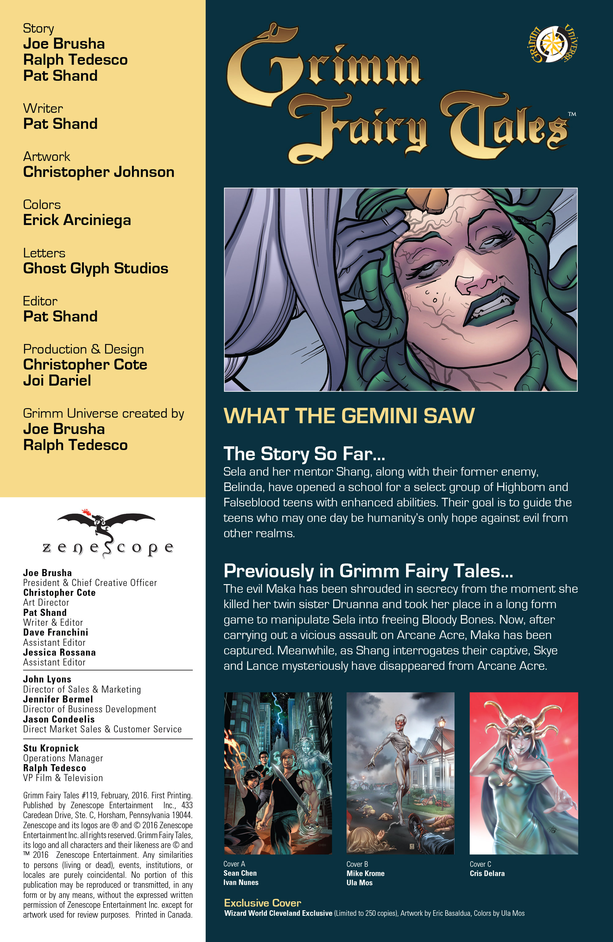 Grimm Fairy Tales (2005) Issue #119 #122 - English 4