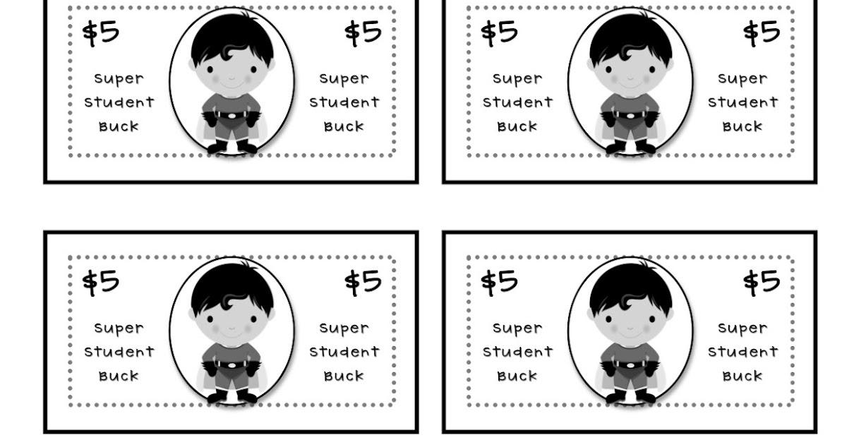 Teacher idea factory super student bucks math rewards in one