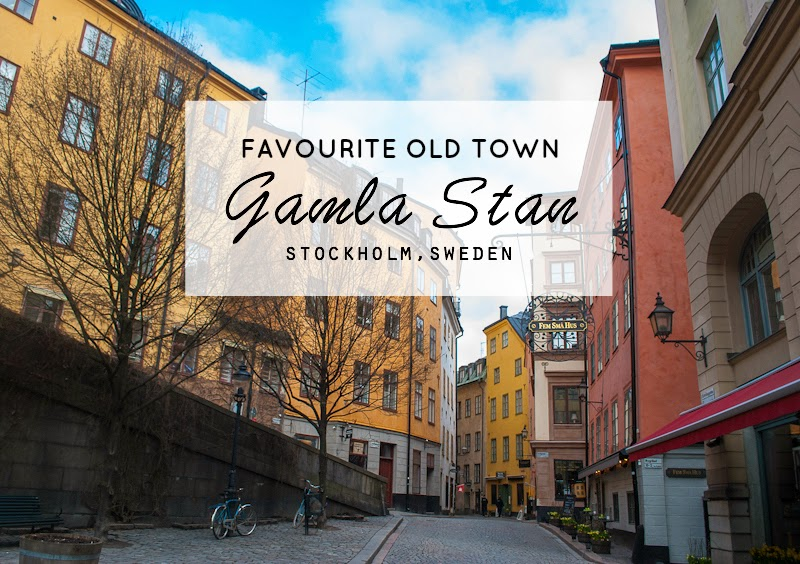 Favourite old town gamla stan in stockholm