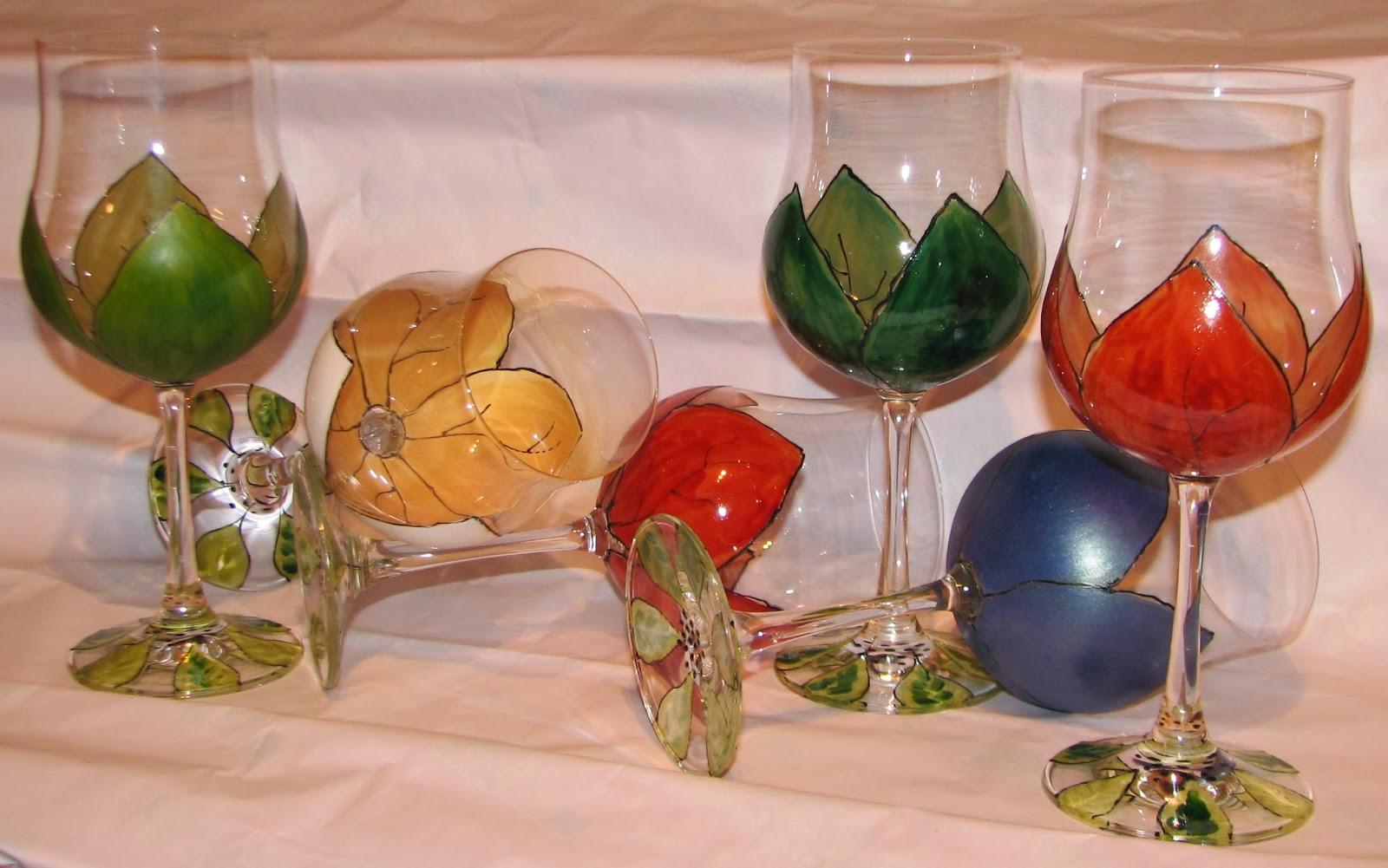 Cadeaux originaux vitrail et peintures sur verre peinture sur support verre - Peinture sur plateau en verre ...