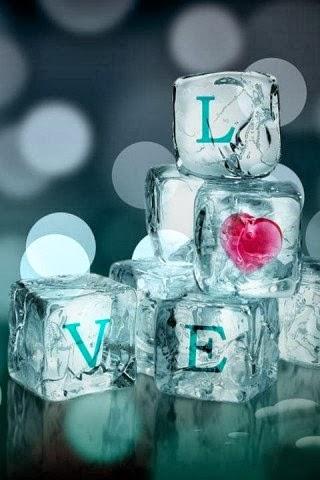 Crystal Love Android Wallpaper