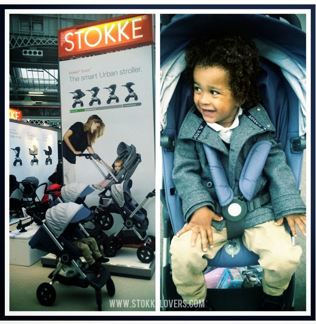 Stokke Scoot in the city