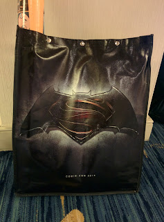 Batman vs. Superman Comic-Con Swag Bag