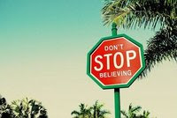 Please, don´t stop dreaming