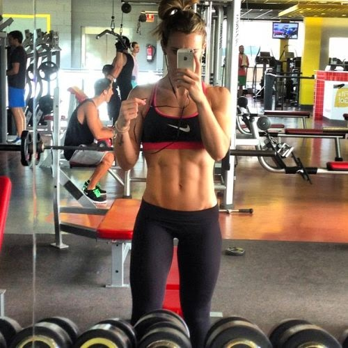Scientists Link Selfies To Narcissism, Addiction & Mental Illness - The Gym Selfie (Because the checkin isn't enough.)