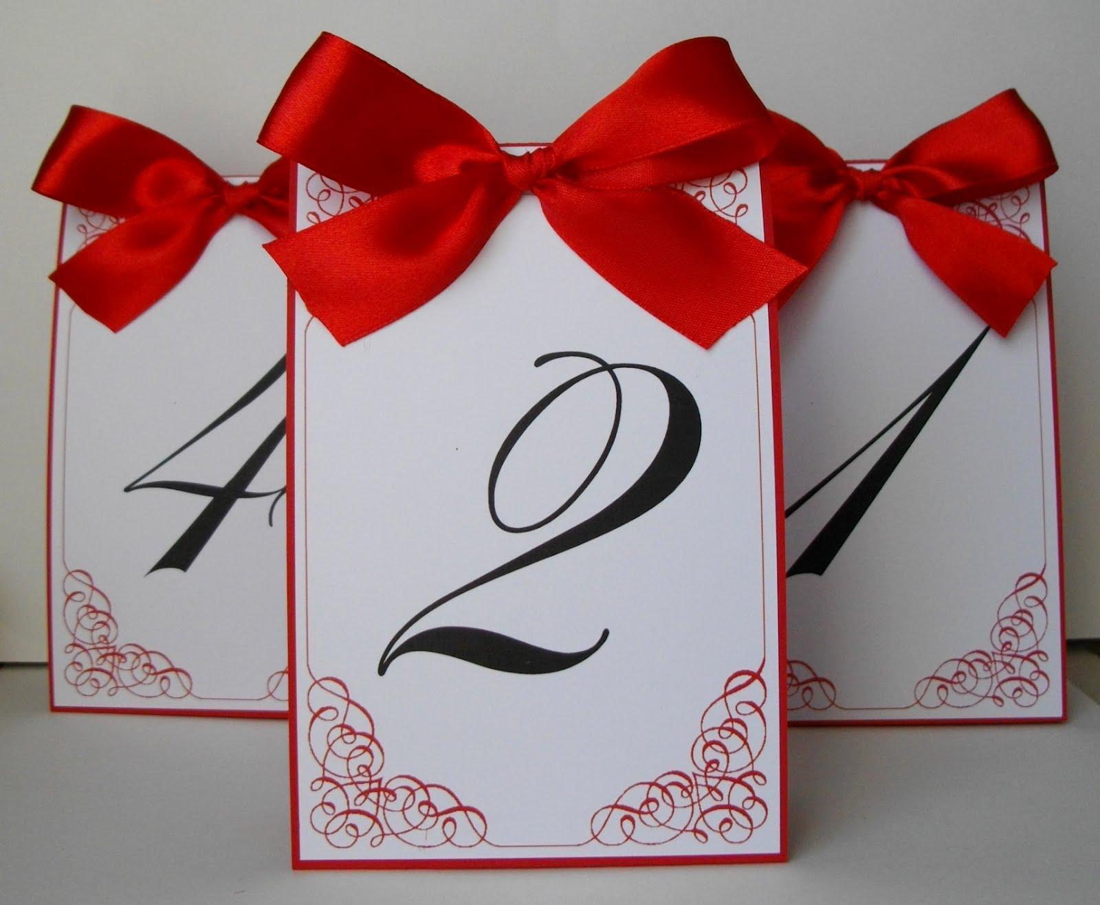 Номерки для столов своими руками Красивая Свадьба 74