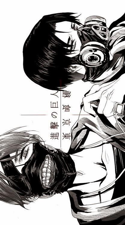 Levi x Kaneki