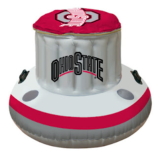 Ohio State Buckeyes NCAA Beach Inflatable Cooler
