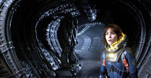 Noomi Rapace en Prometheus