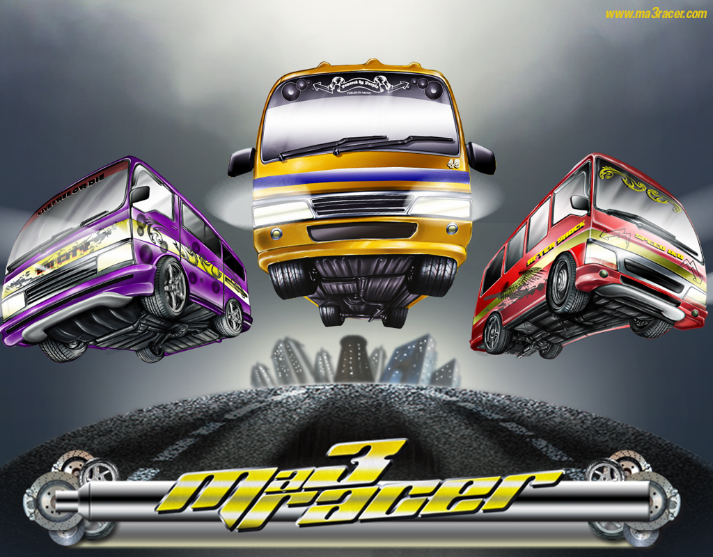 Ma3racer video game poster