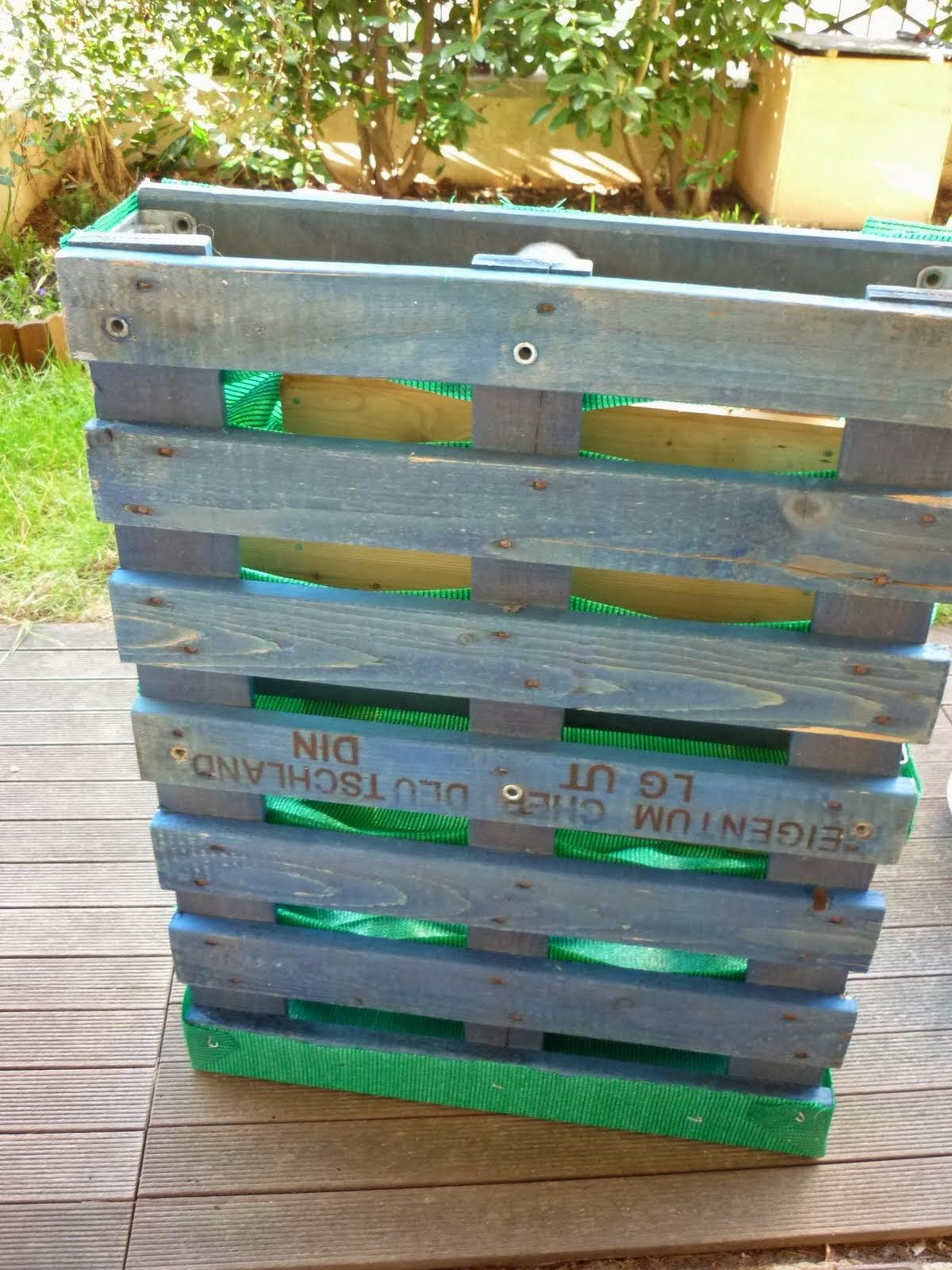 Des tr sors dans ma poubelle recyclage de palette for Recyclage palette