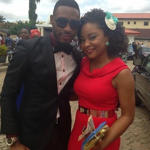 Photos: Tinsel's Matilda Obaseki Weds Hubby In Benin