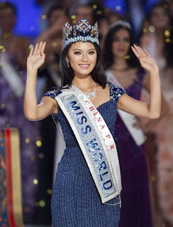 Miss China Yu Wenxia 2012 Miss World