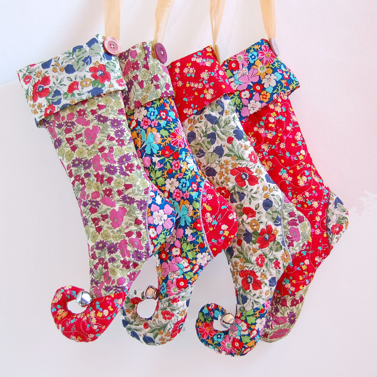 25 adorable and free diy stockings