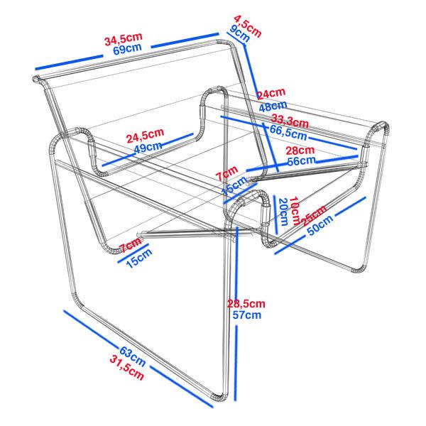 Desarrollo silla wassily procesos de conformaci n y for Sillas para planos