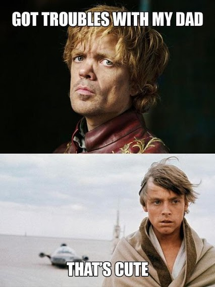 tyrion luke that's cute