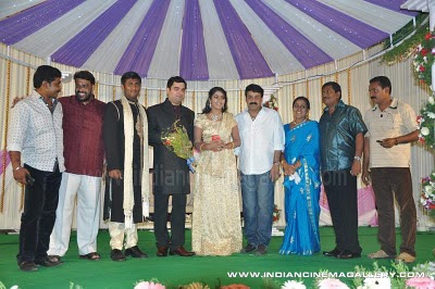 Wedding Reception on Navya Nair Wedding Reception Photos