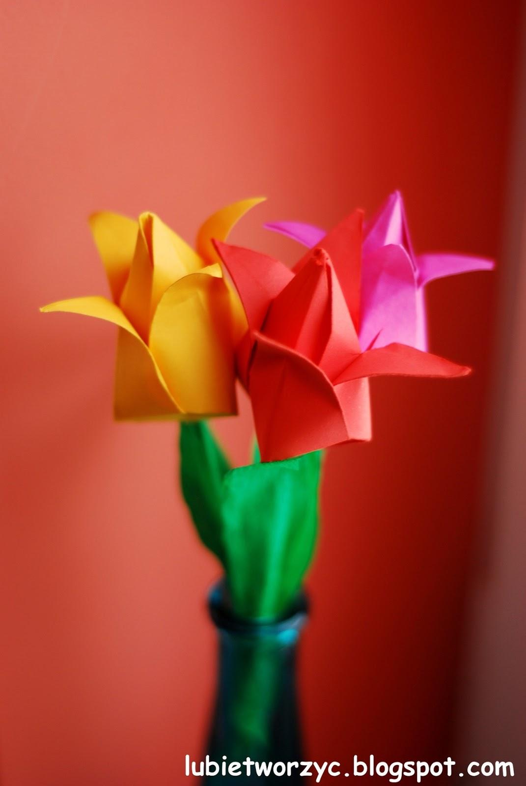 Как самому сделать тюльпан