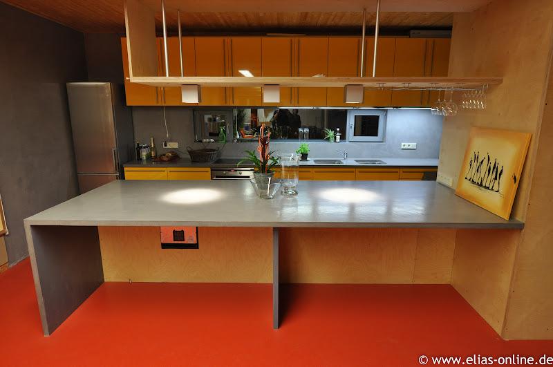 beton cire oberfl chen in beton look beton cire k chenarbeitsplatte. Black Bedroom Furniture Sets. Home Design Ideas