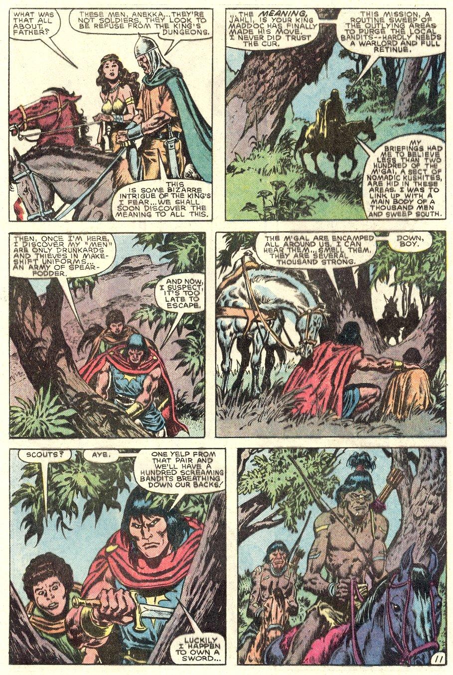 Conan the Barbarian (1970) Issue #182 #194 - English 12