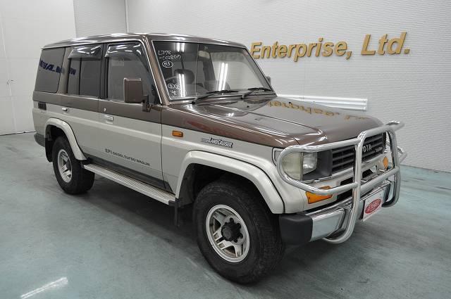 1992 Toyota Landcruiser Prado Ex Wide 4wd Japanese Vehicles To The World