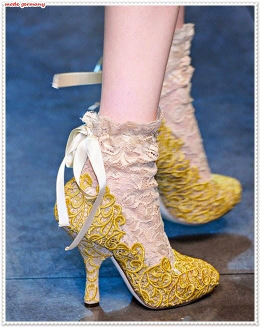 Damenschuhe Kollektion Frühjahr/Sommer 2014 von Dolce&Gabbana