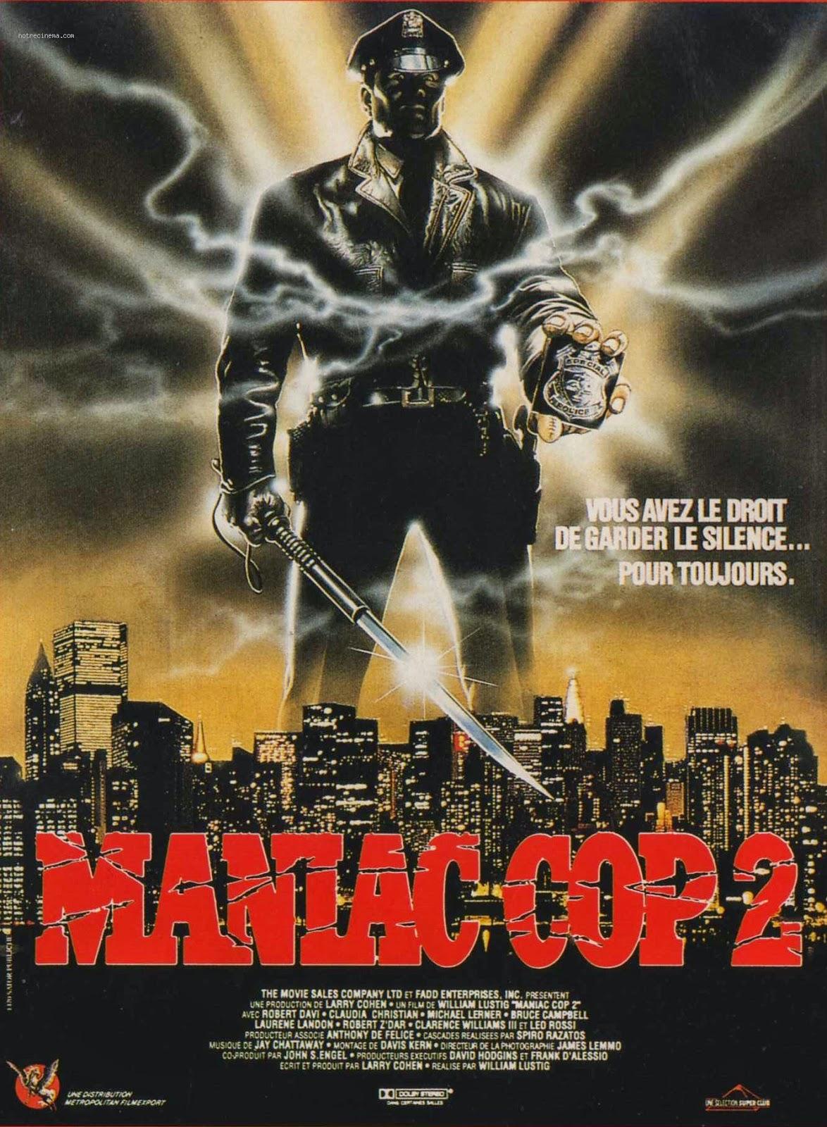 Αποτέλεσμα εικόνας για Maniac.Cop.2