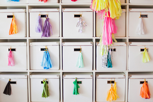 Organized+ikea+expedit+with+kassett+boxes+storing+tassels