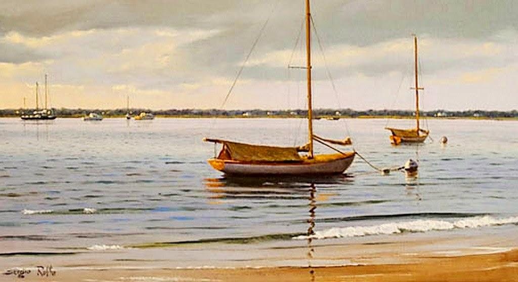 paisajes-naturales-de-playas-pintadas-al-oleo