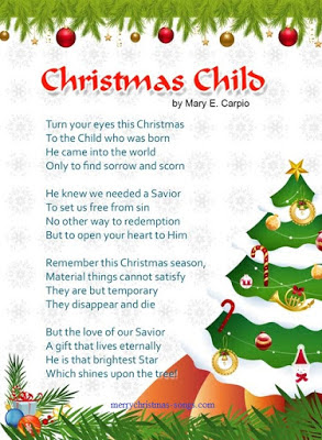 Merry Christmas Poems For Kids | Short Christmas Poems | Inspirational Christmas Poems