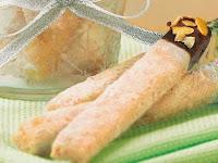 Resep Kue Kering Lebaran: Stick Putri Salju Cokelat