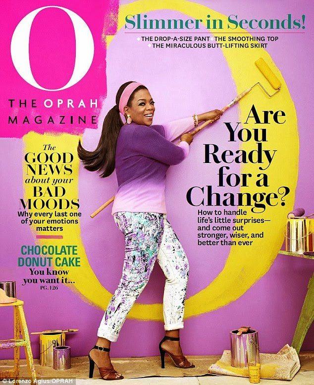 Actress, Singer @ Rosario Dawson Is Gorgeous For O, The Oprah April 2015