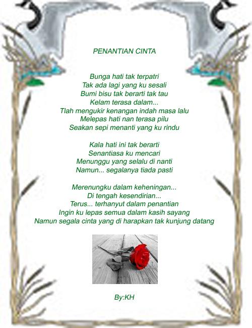 Kumpulan Puisi Cinta - Mengutarakan perasaan hati bisa dilakukan ...