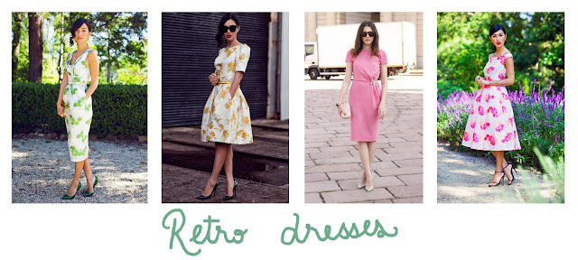 Retro dresses, summer inspiration