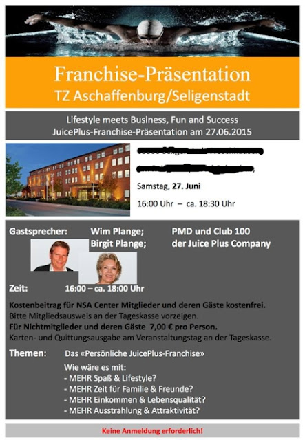 Wim und Birgit Plange am Samstag Präsentation in Seligenstadt