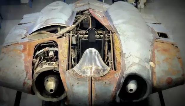Το μόνο που έμεινε σχεδόν άδηκτο απο τους βομβαρδισμούς της Γερμανίας Horten Ho 229 -