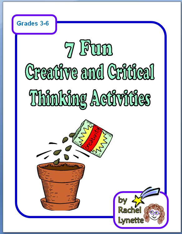 critical thinking in the classroom activities Jumpstart has a fun collection of free, printable critical thinking worksheets and free critical thinking activities for kids homeschooling parents as well as teachers can encourage better logical thinking, and deductive reasoning skills in kids by introducing them to these exercises.