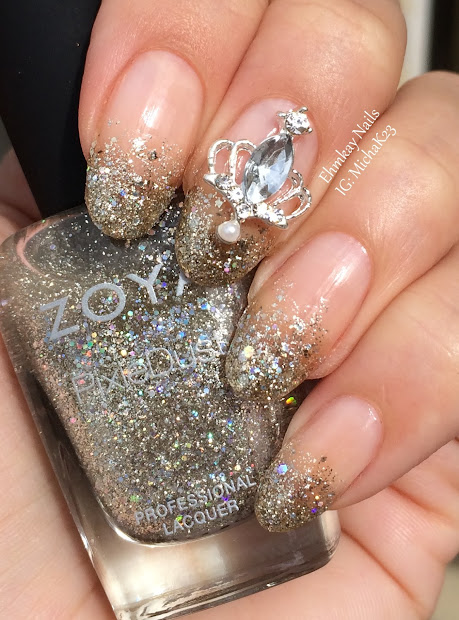 ehmkay nails lady queen nail jewelry