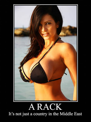 A Rack Funny Demotivational Poster.